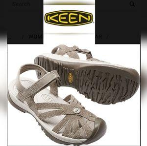 KEEN Rose Sandal Brindle Shitake Comfort Walking